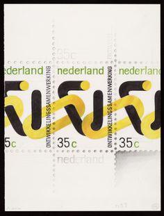 The Netherlands - Development Co-Operation Stamp