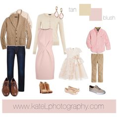 What to Wear: Fall Family Photo Sessions, by Kate Lemmon of Kate L Photography - National Association of Professional Child Photographers tan_blush Family Portraits What To Wear, Family Portrait Outfits, Family Picture Outfits, Family Posing, What To Wear Fall, How To Wear, Bild Outfits, Spring Family Pictures, Family Photo Colors