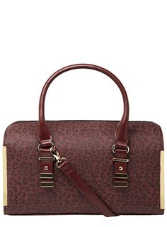 This oxblood bag!