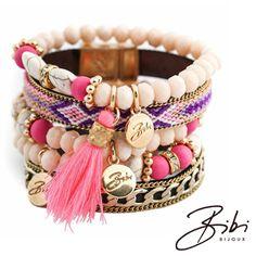 NEW Spring 2015 Bibi Bijoux Pink statement bracelet Pink Jewelry, Jewelery, Jewelry Accessories, Ottoman Hands, Blue Costumes, Ss 15, Spring 2015, Boho Chic, Crystals