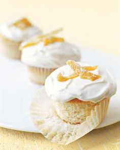 Lemon Cream Cheese Cupcake Recipe ~ Easy Dessert Recipes