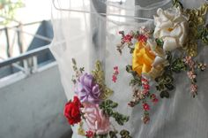 Ribbon embroidery by Đường #Đường's work
