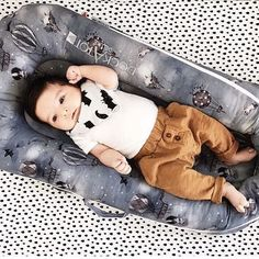 """A vision in our new Mrs Mighetto Night Night cover. @rumigene says: """"DockATot for the win AGAIN!! Seriously you guys, this thing is pure magic. After another night of 6+ hours of uninterrupted sleep we are on top of the world today!"""" The baby sleep solution is a must have for new parents."""