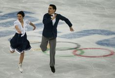 Anna Cappellini and Luca Lanotte of Italy compete during the Team Ice Dance Short Dance at the Sochi 2014 Winter Olympics