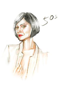 """Our Epic Guide To Fab Skin At Every Age #refinery29  http://www.refinery29.com/skin-care-by-age#slide4  In Your 50s  We've got one word for you: Sagging. Yup, this is the age when gravity finally catches up with you, as your skin elasticity and collagen degrades further and causes a whole array of fun side effects like jowls, loose skin, """"turkey neck,"""" and smile lines. If you were diligent with that sunscreen, this laxity might not be quite so advanced, and you may fare better with wrinkles…"""