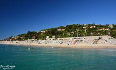 La plage de la Croisette par Benoit Rembert #SainteMaxime #plage #LaCroisette