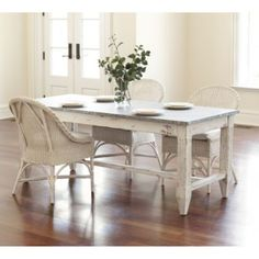 Messina Dining Tale | Tables | Ballard Designs-i'll paint the base a different color but I love the metal top.