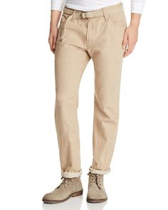 Eidos Khaki Five Pocket Slim Fit Chinos - 100% Exclusive