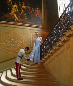 likeadisneyprincess:    Cinderella & The Prince (by Disney Resort)