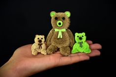 Quilling Teddy Bear Tutorial