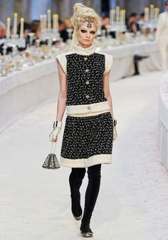 I've always wanted a cute Chanel suit and someplace fabulous to wear it...