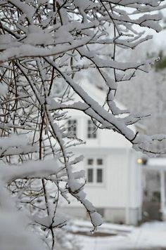 La campagne sous la neige // Country under the snow Winter Szenen, I Love Winter, Winter Magic, Winter Season, Winter Christmas, Winter Colors, Christmas Decor, Christmas Ideas, Merry Christmas