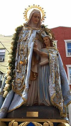 Anne pray for us Catholic Kids, Catholic Saints, Patron Saints, Blessed Mother Mary, Blessed Virgin Mary, Images Of Mary, Queen Of Heaven, Santa Ana, St Anne