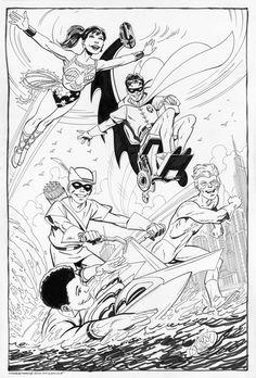 Teen Titans by John Byrne.