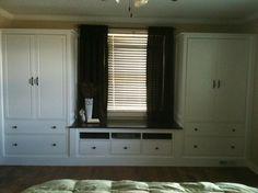 2 Ikea Hemnes wardrobe and 1 Hemnes TV unit-