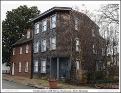 Mrs. Baldwins 19th century rental houses on a rainy late December morning in Annapolis Maryland. Photograph published on December 29th 2016. To view an enlarged version of the associated Annapolis Experience Blog post photographs, along with the post itself, click on the Visit button. Images and article Copyright © 2016 G J Gibson Photography LLC and G Gibson Photo Art.