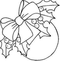 ideas embroidery christmas ornaments coloring pages Christmas Colors, Christmas Art, Christmas Projects, Christmas Classics, Holly Christmas, Christmas Applique, Christmas Embroidery, Christmas Templates, Christmas Printables