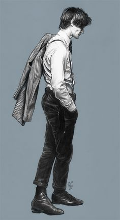 I have to say...as much as I loved the 10th Doc. .....I believe I'm developing a crush on the 11th Doctor...Matt Smith is doing a wonderful job.... ^_^    Come Along Pond - Doctor Who by *Girl-on-the-Moon on deviantART