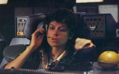 Sigourney Weaver as Ellen Ripley.