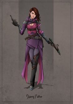 f Wood Elf Rogue Arcane Trickster Leather Armor Cloak Hand Crossbow Potion undercity by Sharry Potter lg Female Wizard, Female Elf, Female Armor, Fantasy Character Design, Character Drawing, Character Inspiration, Character Portraits, Character Ideas, Elf Characters