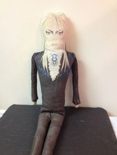 The Labyrinth Jareth Cloth Doll In Ballroom Outfit by Artistique, £70.00
