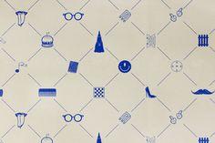 branded + pattern