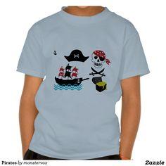 Pirates T Shirts #Pirates #Skull #Sword #Hat #Treasure #Ship #Shirt #Tshirt #Tee #Fashion