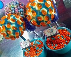 Gummy Bear & Sour Ring Arrangement | Hollywood Candy Girls
