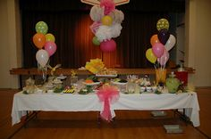 A Ladies' Lemonaude - great ideas for a mother/daughter party including crafts and food