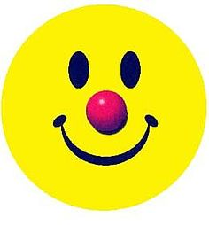 Circus clown Smiley! Barn Him and Bail Hey circus!! Hee, hee...