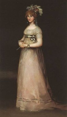 """The Countess of Chinchon"" by Francisco de Goya (1746-1828)"