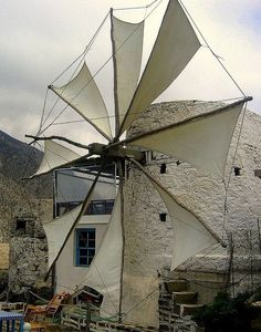 Samos, Old Windmills, Virtual Travel, Greece Islands, Le Moulin, Cool Photos, Amazing Photos, Greece Travel, Athens