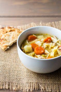 Chicken Noodle Soup — Edible Sound Bites
