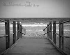 Myrtle Beach Photography Decor Walk to the by MomentInTimeWallArt