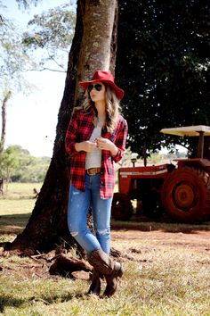 blog da thássia Country Thunder Outfits, Cute Country Outfits, Cute Outfits, Looks Country, Country Girl Style, Cowboy Outfits, Fall Outfits, Cowgirl Outfits For Women, Work Appropriate Halloween Costumes