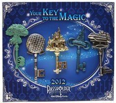 Annual Passholder 2012 Keys to the Parks Pins--Ill have this next year!