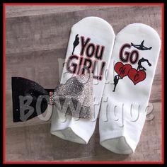 Lucky socks - cheer socks - custom socks