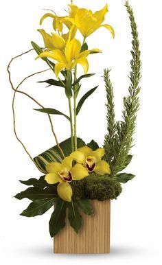 Teleflora's Bamboo Tropics bouquet