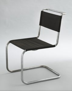 Chair (B33), 1927-1928. Marcel Breuer.
