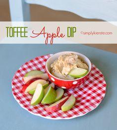 toffee apple dip | simplykierste.com