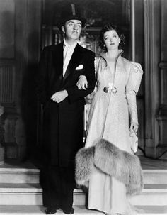 William Powell and Myrna Loy-Nick and Nora Charles