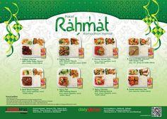 The FoodHall: Promo Bukber Paket Rahmat @TFoodHall