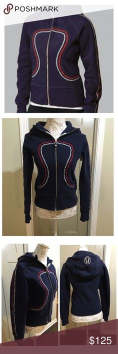 Lululemon limited edition Olympic scuba hoodie This scuba hoodie is a limited edition Olympic hoodie. It is NWOT no wear and is perfect for anyone ! lululemon athletica Jackets & Coats