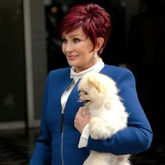 Sharon Osbourne Hairstyles 2015 Photos... I love her and her hair!