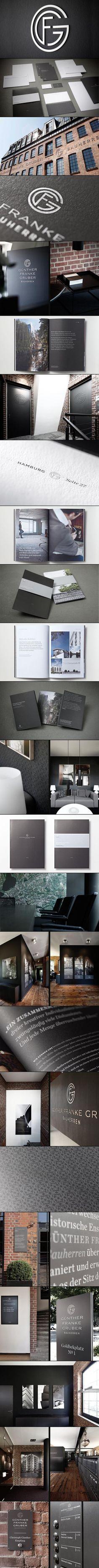 GFG Bauherren | #stationary #corporate #design #corporatedesign #identity #branding #marketing < repinned by www.BlickeDeeler.de | Take a look at www.LogoGestaltung-Hamburg.de