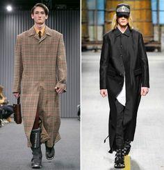 moda uomo · Cappotto extra lungo Da sinistra 38d0da3848a