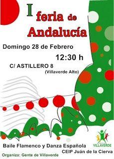 Gente de Villaverde: I Feria de Andalucía Madrid, Character, Short Stories, Lettering