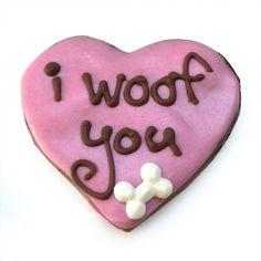 Organic Valentines Dog Treats