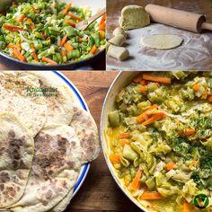 Kuchařka ze Svatojánu: BRAMBOROVÉ PLACKY SE ZELENINOVOU OMÁČKOU
