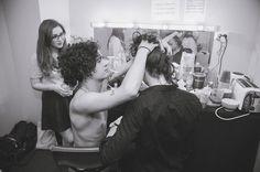 Matty & John backstage